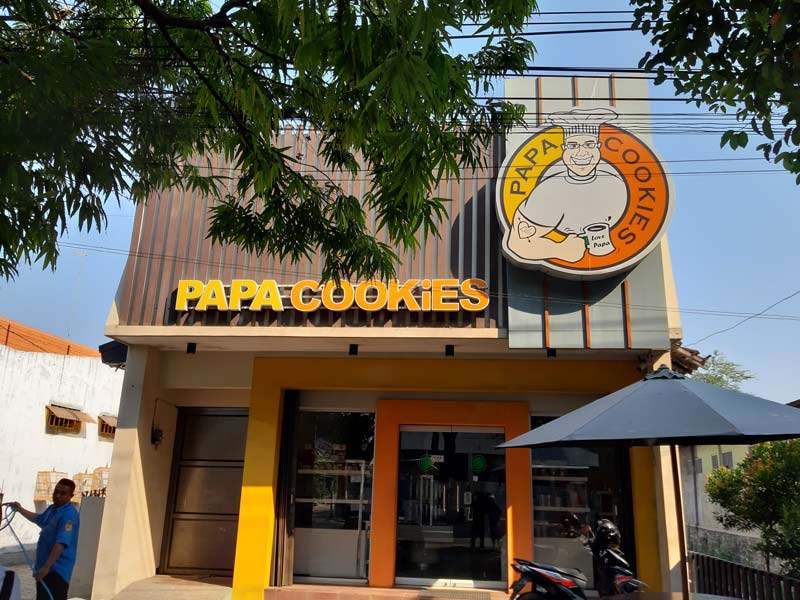 Outlet Papa Cookies Cabang Sragen